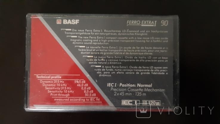 Касета Basf Ferro Extra I (Release year 1991) №2, фото №3