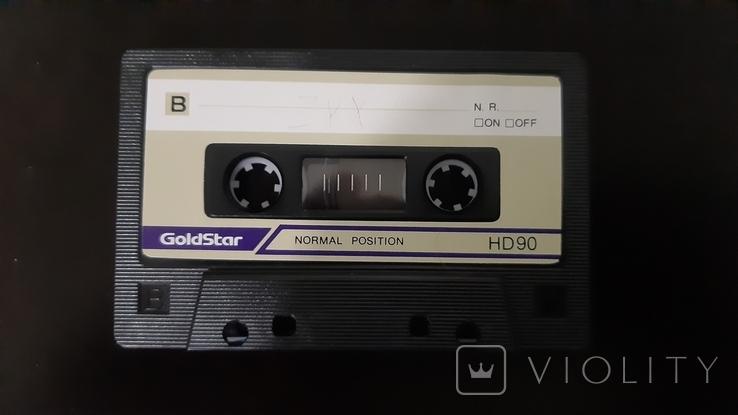 Касета GoldStar HD 90 (Release year 1986-91), фото №4