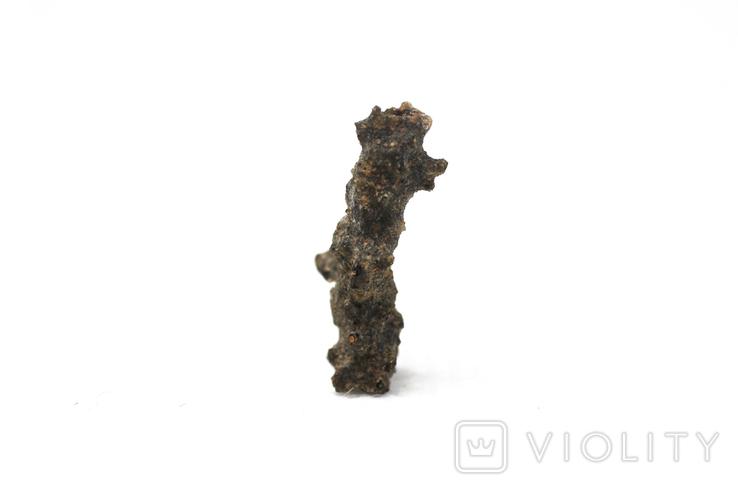 Фрагмент фульгурита, 0,25 грам, з сертифікатом автентичності, фото №8