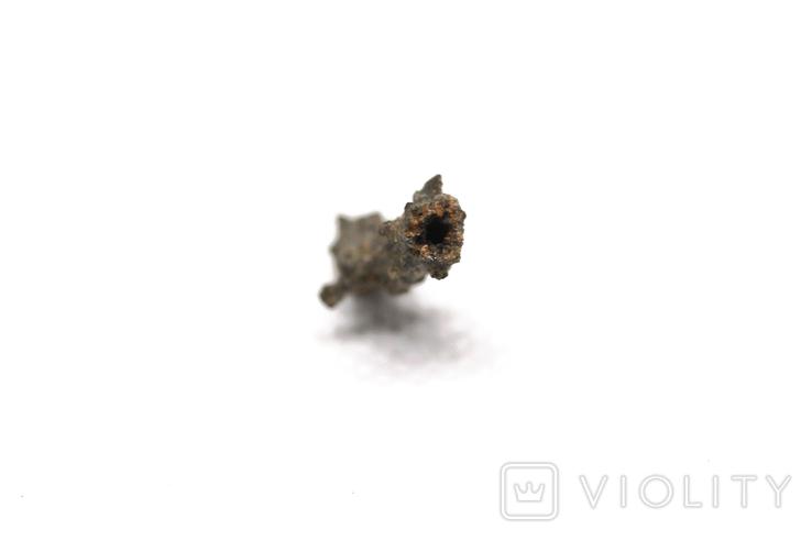 Фрагмент фульгурита, 0,25 грам, з сертифікатом автентичності, фото №10