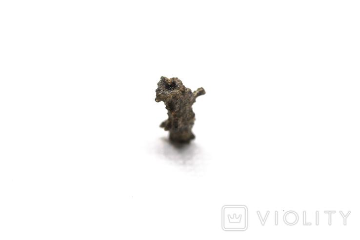 Фрагмент фульгурита, 0,25 грам, з сертифікатом автентичності, фото №11