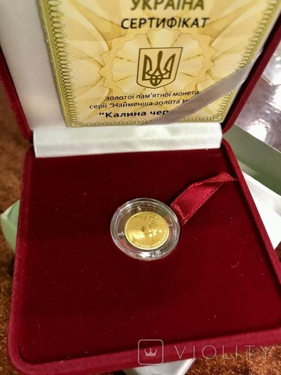 2 грн золото 9999 пробы