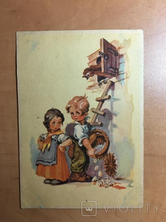 Діти збирають яйця, фото №2