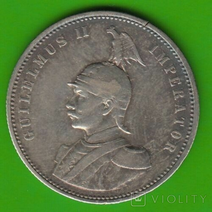 1 рупия 1911 Немецкая африка, фото №2
