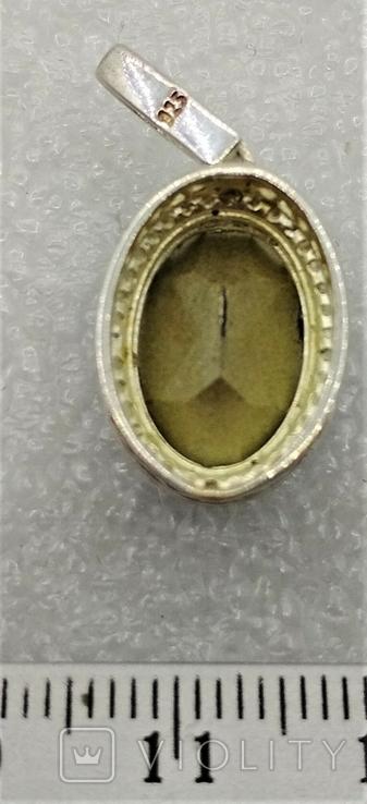 Кулон Подвеска Серебро 925, фото №6