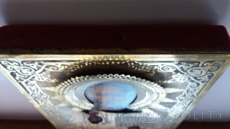 Икона Господь Вседержитель 1886 год, оклад серебро, фото №11
