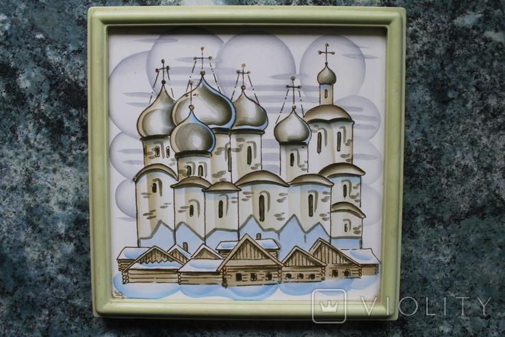 Плакетки Церковь, Монастырь, фото №3