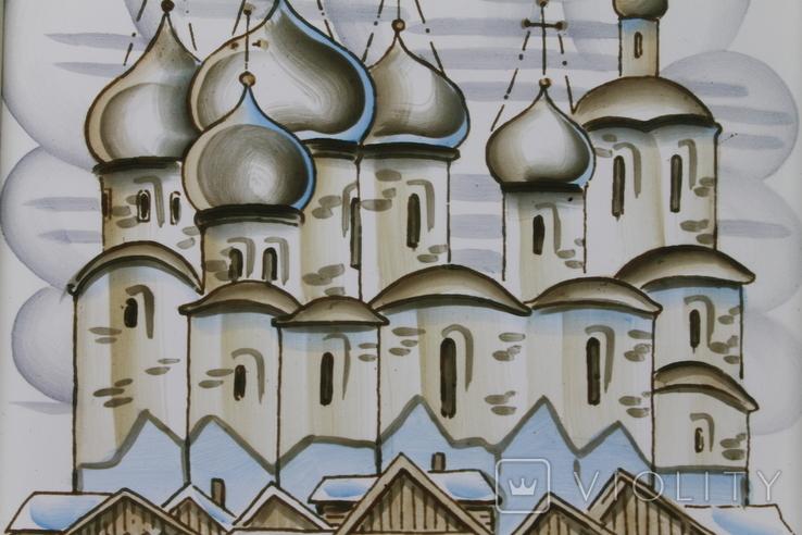 Плакетки Церковь, Монастырь, фото №5