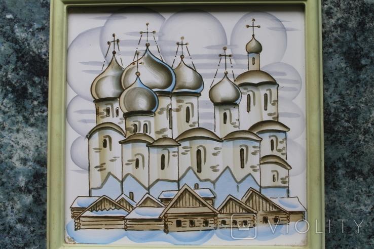 Плакетки Церковь, Монастырь, фото №7