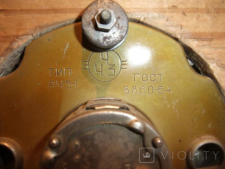 Часы Тип АЧЗ -1 автомобиль ЛАЗ 697-Е Турист ручной автоподзавод ГОСТ-54 завод ЧЧЗ., фото №4