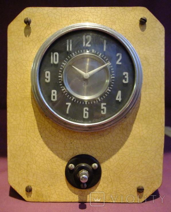 Часы Тип АЧЗ -1 автомобиль ЛАЗ 697-Е Турист ручной автоподзавод ГОСТ-54 завод ЧЧЗ., фото №2