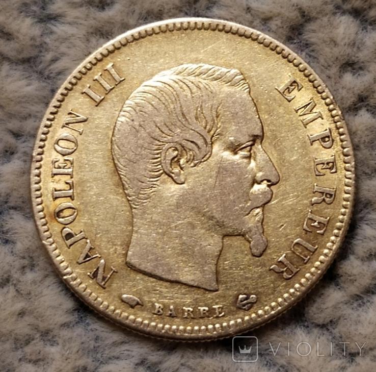 10 франков 1857г. Франция., фото №2