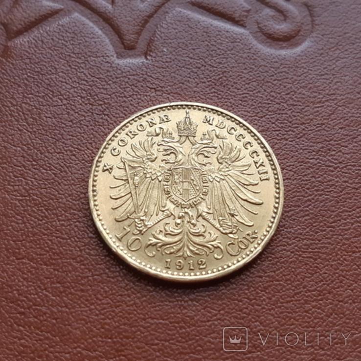10 крон корон 1912 Австрия, фото №7
