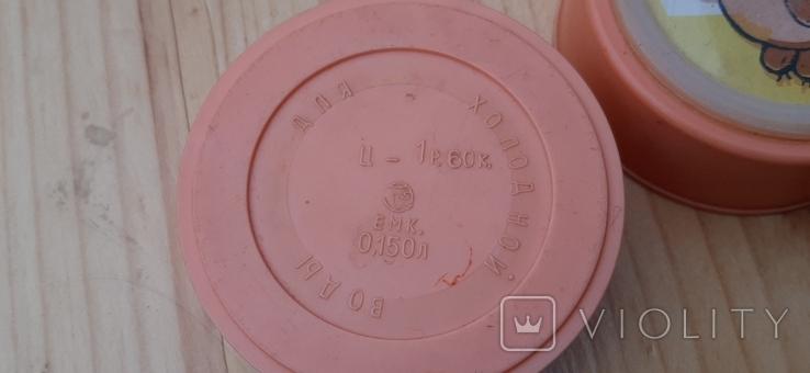Складной стаканчик СССР (емк.-0.150 л), фото №3