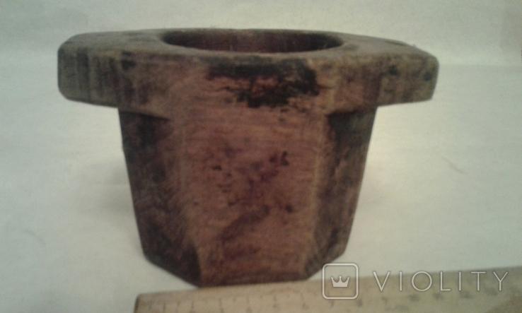 Деревяная-ступка, фото №2