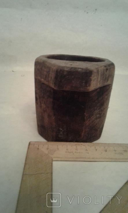 Деревяная-ступка, фото №4