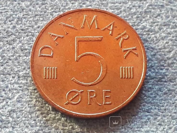 Дания 5 эре 1983 года, фото №2