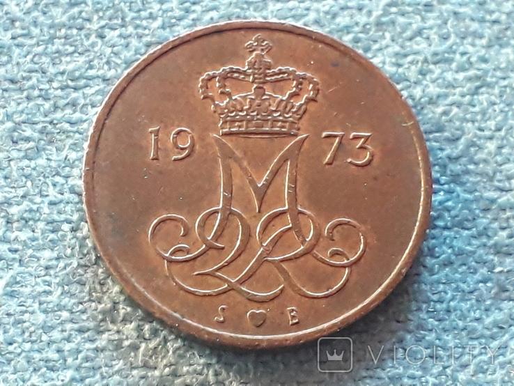 Дания 5 эре 1973 года, фото №3