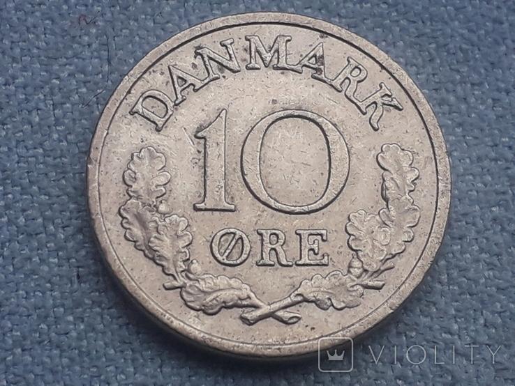 Дания 10 эре 1969 года, фото №2