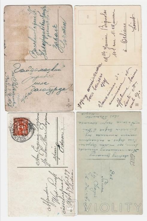4 листівки 1910-20х на дитячу тематику, фото №3