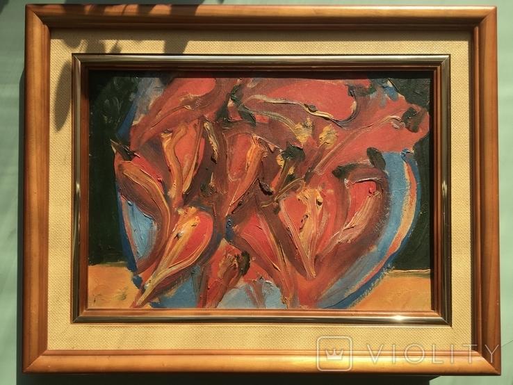 Владимир Лобода (1943) «Перцы на тарелке», фото №2