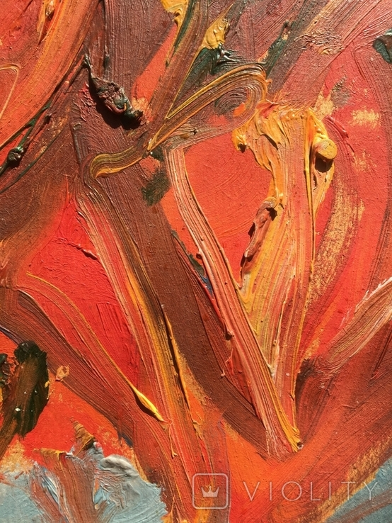 Владимир Лобода (1943) «Перцы на тарелке», фото №4