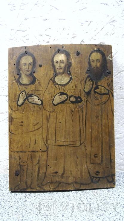 Икона Трех Святых, фото №4