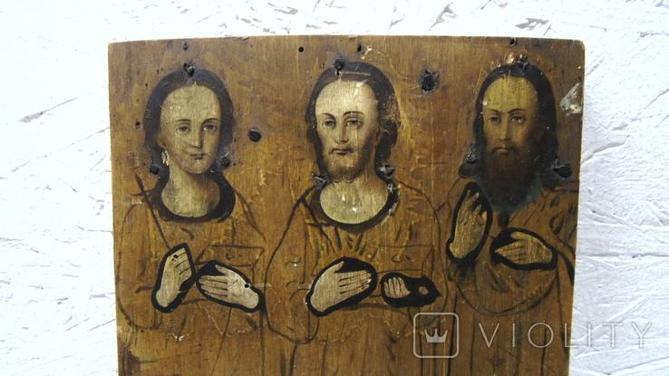 Икона Трех Святых, фото №5