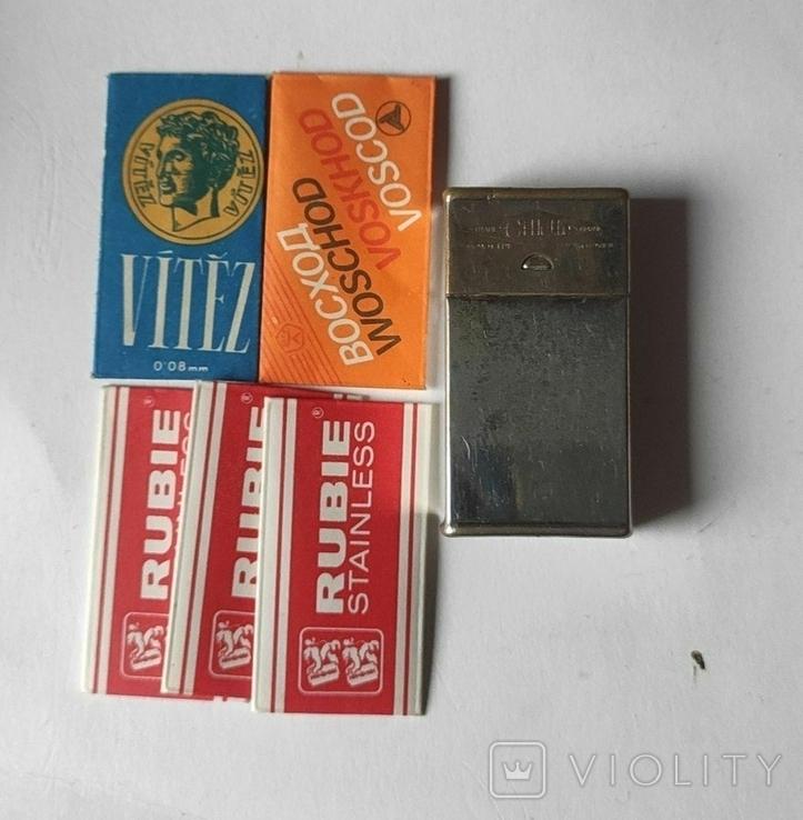 Футляр для лезвий Gillette + 5 лезвий, фото №2