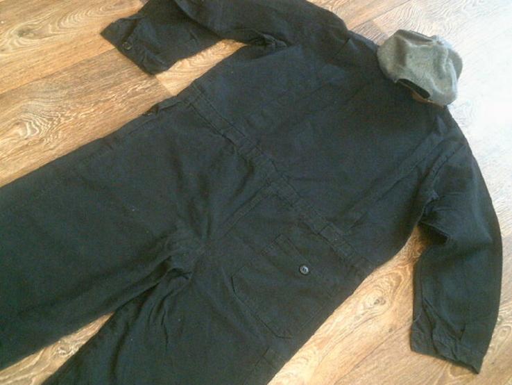 Черный комбез(разм.48) + бейс, фото №7