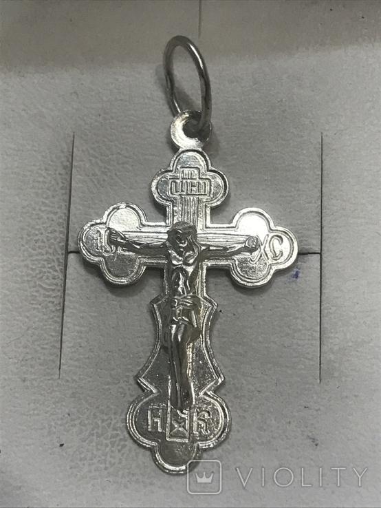 Крест Серебро, фото №2