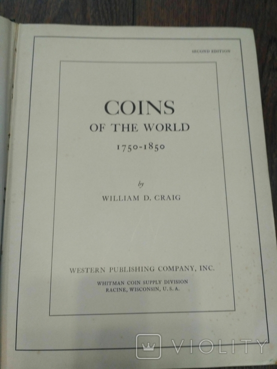 Каталог монет CRAIG. COINS OF THE WORLD 1750-1850, фото №4
