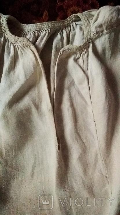 Старинная  вышиванка белым по белому с вырезанием., фото №9