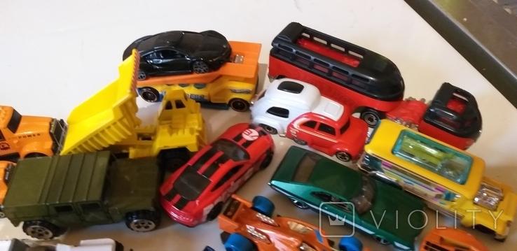 Коллекция машин HOT WHEELS грузовые с прицепом, легковые, и др. в кол. 40шт, фото №5