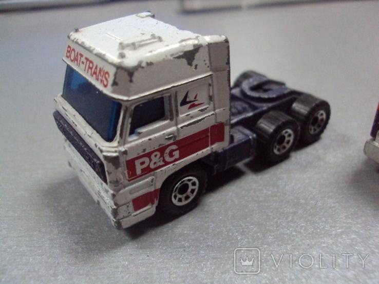 Машинка трейлеровоз макао лот 2 шт, фото №3