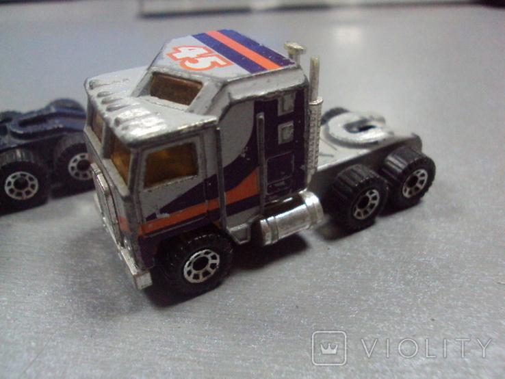 Машинка трейлеровоз макао лот 2 шт, фото №4