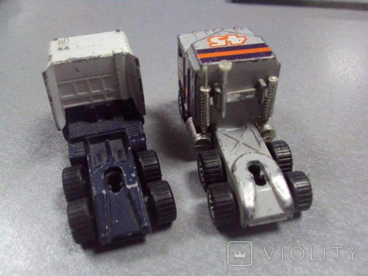 Машинка трейлеровоз макао лот 2 шт, фото №5