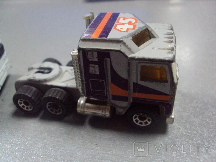 Машинка трейлеровоз макао лот 2 шт, фото №7