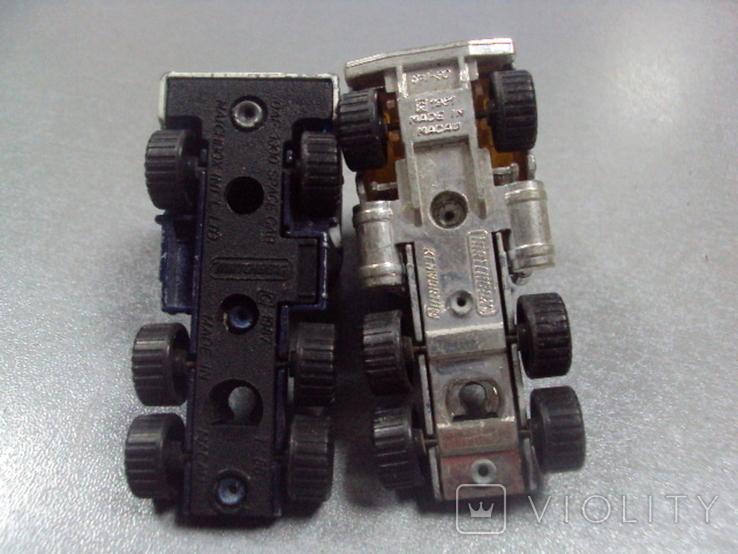 Машинка трейлеровоз макао лот 2 шт, фото №8