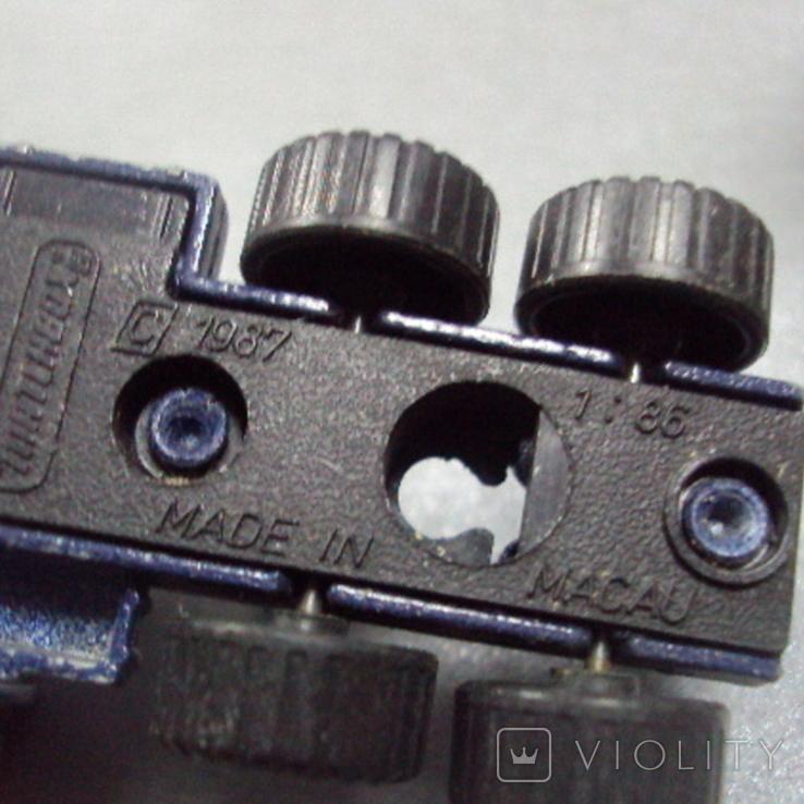 Машинка трейлеровоз макао лот 2 шт, фото №10