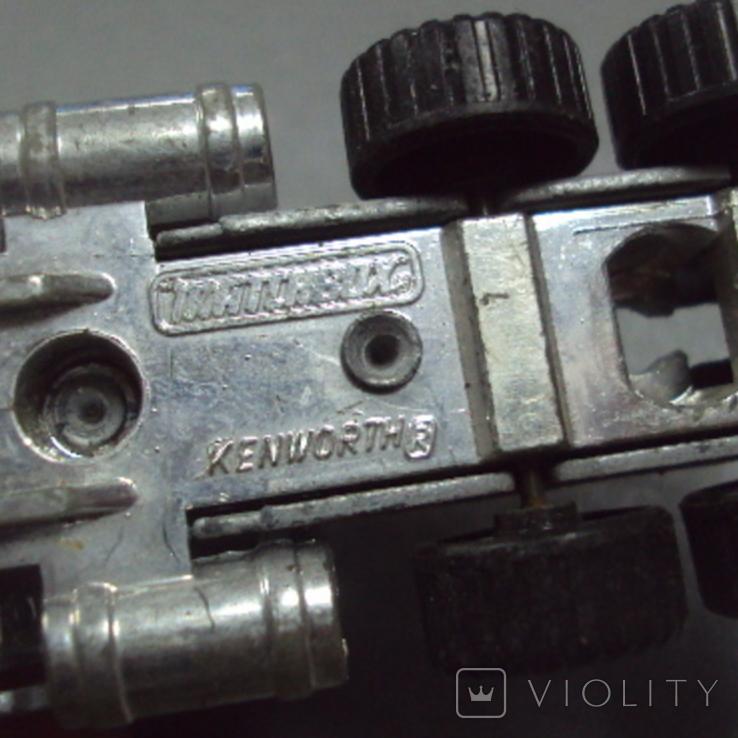 Машинка трейлеровоз макао лот 2 шт, фото №11