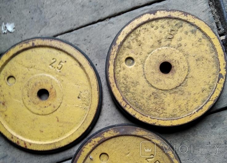 Штанга разборная30 кг, фото №3