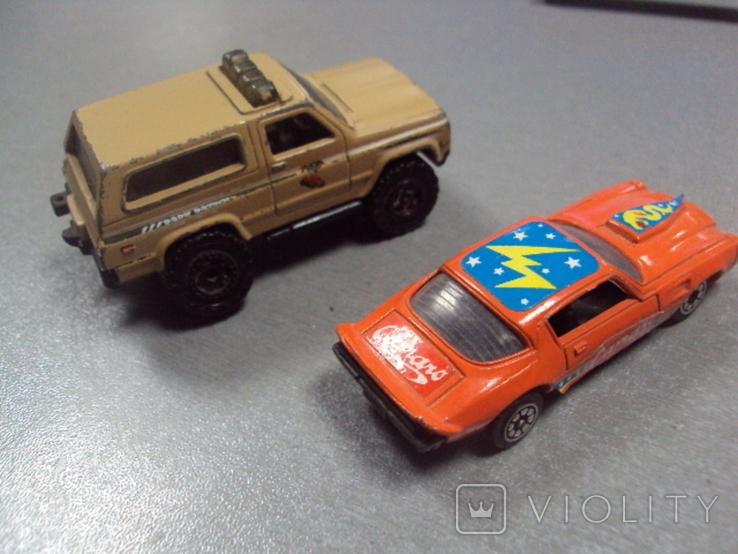 Машинка Nissan Patrol Chevrolet Camaro тайланд лот 2 шт, фото №6
