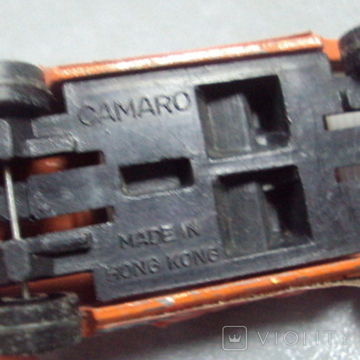 Машинка Nissan Patrol Chevrolet Camaro тайланд лот 2 шт, фото №13