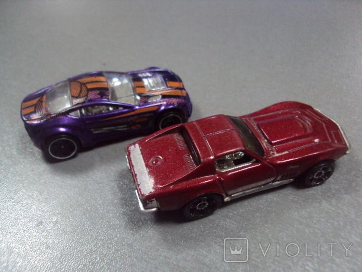 Машинка Chevrolet Corvette Hot Wheels лот 2 шт, фото №7