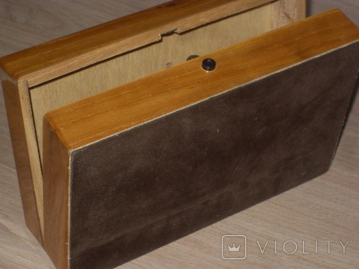 Шкатулка сувенирная для злектробритвы ЭХО, фото №7