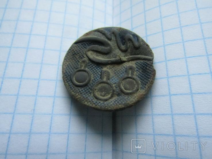 Царская пуговица (елочная игрушка), фото №3
