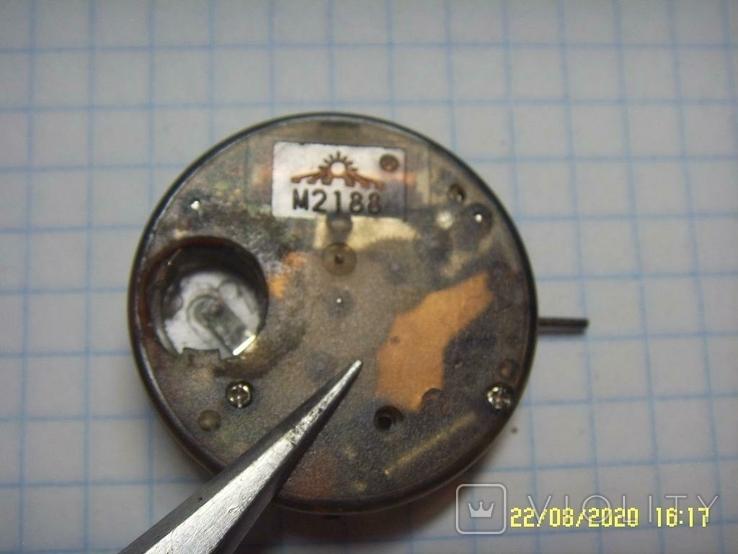 Механизм кварц от мужских наручных часов на запчасти., фото №7