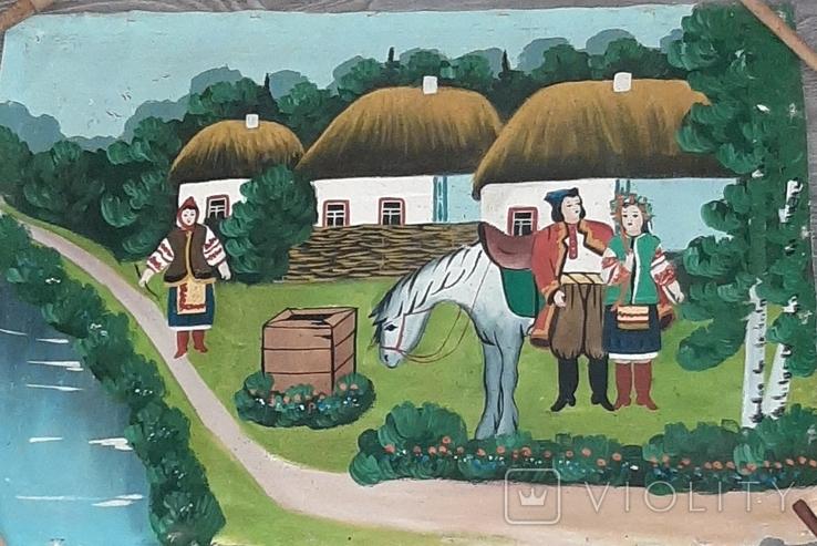 ''Не жартуй'',народный художник,варианты на тему картины Н.Пимоненко. копия, фото №2