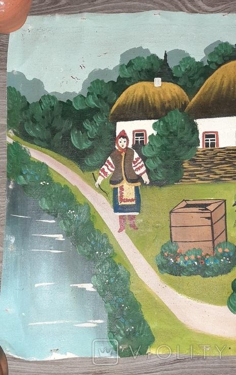 ''Не жартуй'',народный художник,варианты на тему картины Н.Пимоненко. копия, фото №4